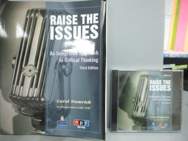 【書寶二手書T6/大學社科_ZCP】Raise the Issues: An Integrated Approach t