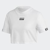 Adidas Originals R.Y.V. 女裝 短袖 休閒 潮流 短版 純棉 白【運動世界】FM2516