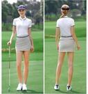 高爾夫球鞋女士防水小白鞋 時尚無釘軟底運動鞋 固定釘女鞋