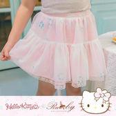 裙子 Hello Kitty x Ruby 聯名款-碎花印花多層蕾絲紗裙(童)-Ruby s 露比午茶
