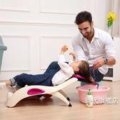 兒童洗頭椅寶寶洗頭床小孩洗頭躺椅洗髪椅可折疊加厚加大XW(時代旗艦店)