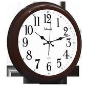 掛鐘 客廳靜音 創意 簡約 圓形 石英鐘 時尚歐式時鐘 限時八九折