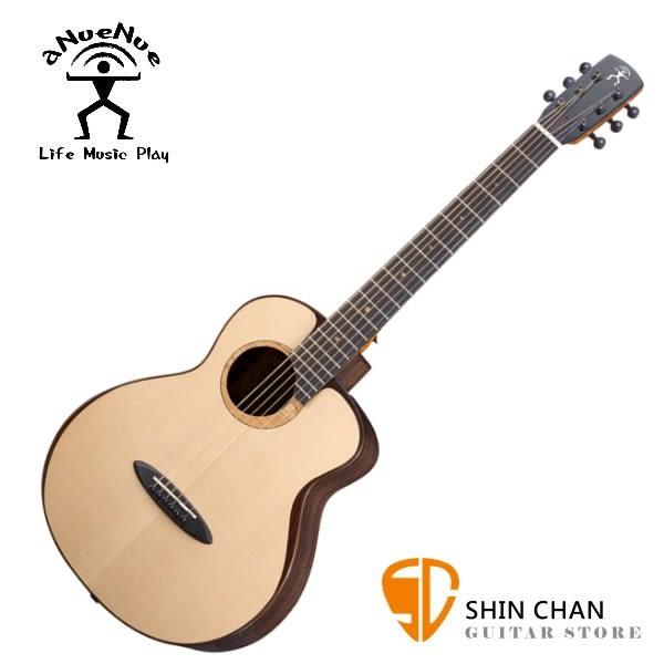 aNueNue M200 飛鳥/36吋小吉他 月亮雲杉/印度玫瑰木 全單板 附贈anuenue 木製吉他硬盒