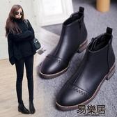 短靴新款學生百搭韓版靴女冬季加絨