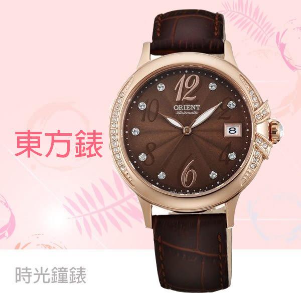 ORIENT 東方錶 機械錶 玫瑰金女錶 FAC07001T 免運/38mm