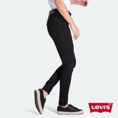 Levis 女款 311中腰縮腹緊身牛仔褲 / 黑色基本款 / 彈性布料