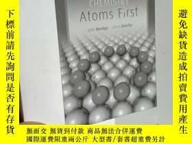 二手書博民逛書店Chemistry:罕見Atoms First Problem-