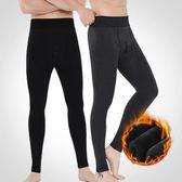 男士保暖褲加絨加厚秋褲男青年單件內穿緊身打底褲冬季棉毛褲線褲 提拉米蘇