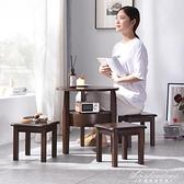 小凳子家用矮凳小板凳兒童客廳沙發凳小椅子實木方凳換鞋凳小木凳 黛尼時尚精品