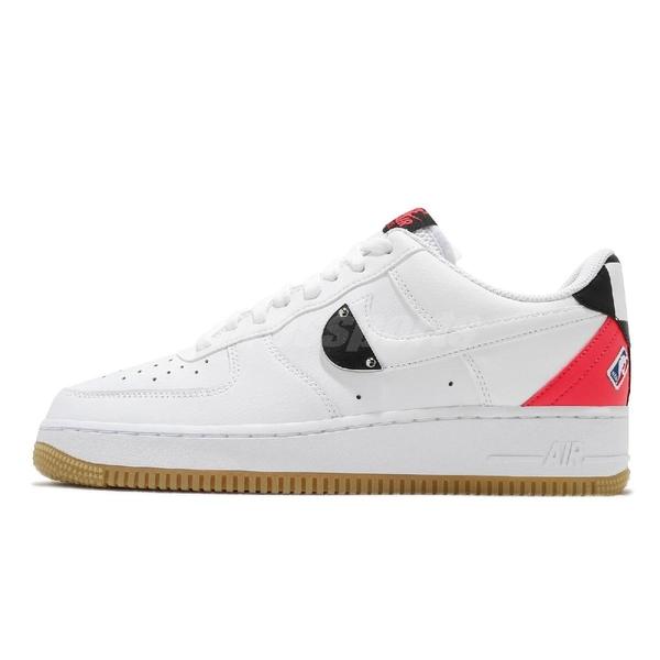 Nike 休閒鞋 Air Force 1 07 LV8 白 黑 男鞋 女鞋 NBA 運動鞋【ACS】 CT2298-101