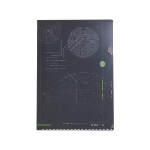 《sun-star》星際大戰外傳:俠盜一號系列未來金屬質感A4文件夾(死星)_UA51015