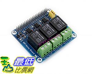 [106美國直購] NEW Raspberry Pi Expansion Board Power Relay Module for Raspberry Pi 3 2 Model B B+