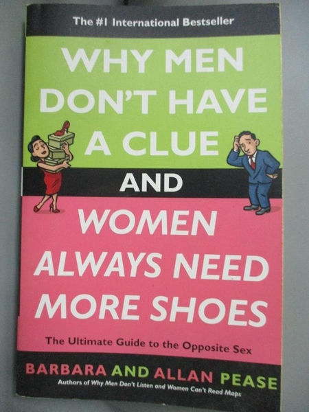 【書寶二手書T3/兩性關係_BH6】Why Men Don't Have a Clue and Women Always