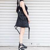 束口包 束口袋尼龍運動健身包旅行袋男女中性單肩手提抽繩包書包雙肩背潮 東京衣秀