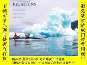 二手書博民逛書店Effective罕見Human Relations: Personal And Organizational A