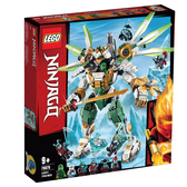 LEGO樂高 旋風忍者系列 70676 勞埃德的鈦機械人