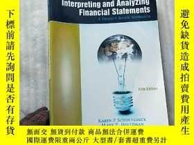 二手書博民逛書店Interpreting罕見and Analyzing Fina