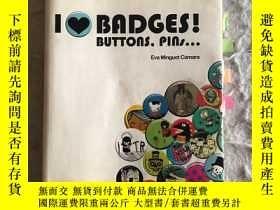 二手書博民逛書店i罕見love badges!buttons,pins...Y2
