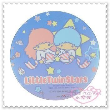 ♥小花花日本精品♥《Little Twin Stars》雙子星 晶彩 透明 滑鼠墊 桌墊 特殊壓紋 坐姿21096204