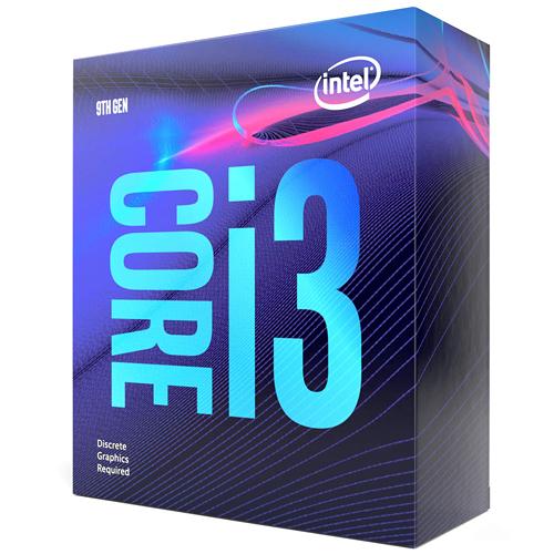 (須搭配獨立顯卡) Intel Core i3-9100F 4核心4執行緒 1151 腳位 CPU 中央處理器