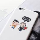 iPhone 6 手機殼 4.7吋【PlayArt 藝起玩樂 - 小科科與賈伯斯】- WaKase