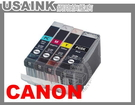 USAINK~BCI-3eBK/3BK 黑色相容墨水匣 BJC-3000/6000/6200/6500/i550/i850/i6100/i6500/iP3000/iP4000/iP5000 / MPC400