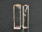 頂級淺色黃水晶(三)臍帶印章《全手工噴砂》六分,正常高度,單章。全配包裝。傳家手工印章