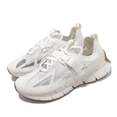 Reebok 休閒鞋 Zig Kinetica Concept_Type1 白 米白 男鞋 女鞋 運動鞋 【PUMP306】 FW3309