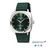 【官方旗艦店】 BRISTON AUTOMATIC 自動機械錶 折射光感綠錶盤 不鏽鋼框 時尚百搭 禮物首選