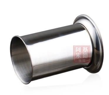 [協貿國際]不銹鋼寬底大號吸管座吸管筒圓形筷子桶咖啡勺調棒座奶茶店用品1入