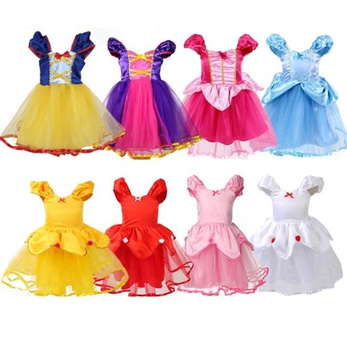 萬聖節 現貨女童公主造型連衣裙洋裝