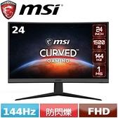 MSI微星 24型 Optix G24C6  曲面電競螢幕