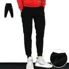 休閒褲-保暖刷毛運動褲-街潮舒適款《99901300》黑色『RFD』