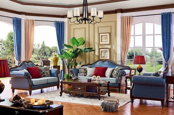 [紅蘋果傢俱] 602 美式英倫風系列 沙發系列 沙發組 數千坪展示