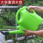 加厚灑水壺澆花噴壺塑料澆水壺長嘴噴水壺  WD 至簡元素