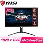 【南紡購物中心】MSI 微星 Optix MAG273R 27型 IPS 144hz電競螢幕