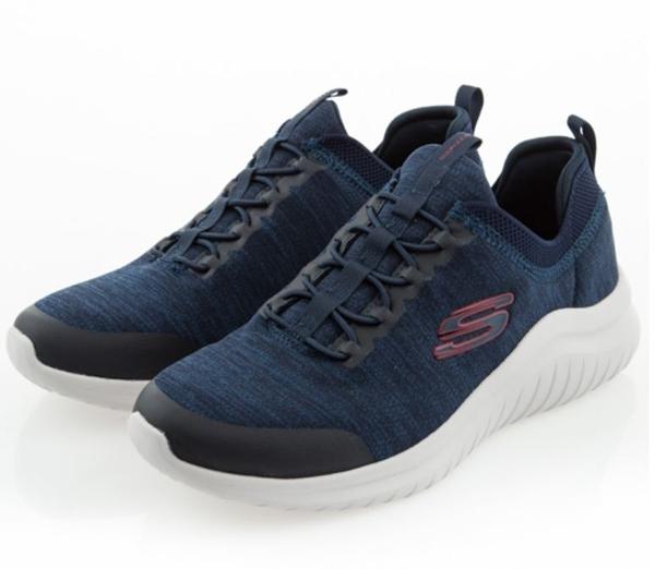 SKECHERS系列-ULTRA FLEX 2.0 男款藍色休閒鞋-NO.52765NVRD