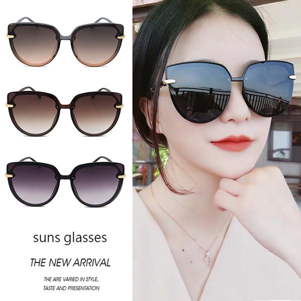 復古網紅墨鏡 貓眼造型太陽眼鏡 時尚墨鏡 流行新品 抗紫外線UV400