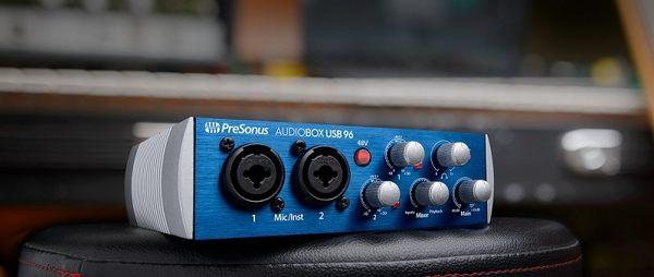 PreSonus AudioBox USB 96 錄音介面 公司貨 一年保固