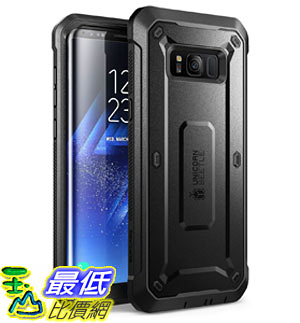 手機保護殼 Galaxy S8+ Plus Case, SUPCASE Full-body Rugged Holster Case with Built-in Screen