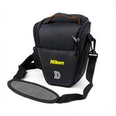 相機包 尼康單反相機包 單肩攝影包 三角包D90 D7000 D5300 D5200 D3200 亞斯藍