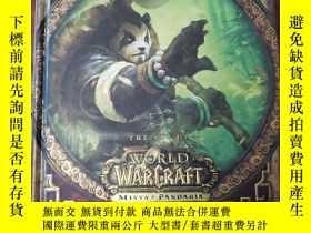 二手書博民逛書店THE罕見ART OF WORLD OF WARCRAFT MISTS OF PANDARIA 魔獸世界的藝術潘達