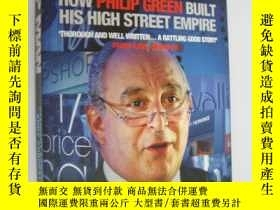 二手書博民逛書店TOP罕見MAN:How Philip Green Built