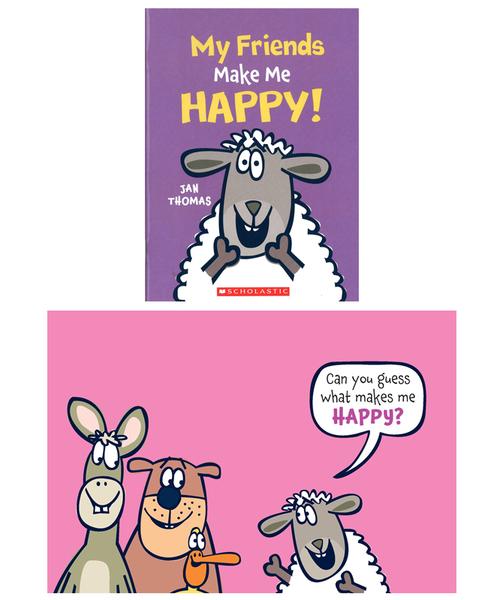 【麥克書店】Jan Thomas 爆笑英文繪本(全套共7本)