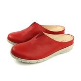 HUMAN PEACE 平底鞋 拖鞋式 紅色 女鞋 BB126 no628