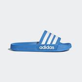 Adidas Adilette Shoewr [B42211] 男女 運動 涼鞋 拖鞋 休閒 舒適 輕量 愛迪達 藍