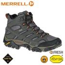 【MERRELL 美國 女 MOAB 2 MID GORE-TEX登山鞋《深灰》】ML06062/健行鞋/登山