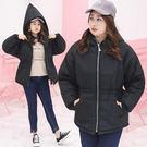 ★韓美姬★中大尺碼~加厚防寒連帽外套(X...