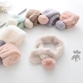 兒童圍巾 寶寶圍巾秋冬女嬰兒可愛兒冬季女童毛絨兒童 【免運86折】