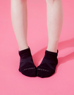 【 Footer 除臭襪】X型減壓經典護足船短襪 黑 22-25CM 女 (任選6雙960元)